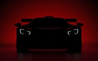 The Ford GT extreme supercar appeared on the first teaser