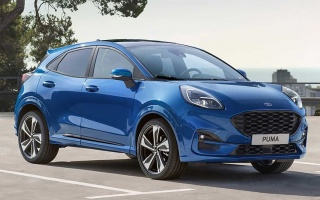 Ford Puma: new compact SUV presented
