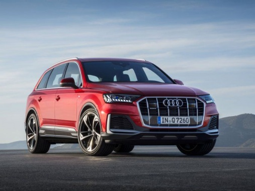 Audi Q7 has been updated and prepare for sales