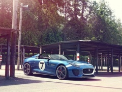 Jaguar Project 7 is a Retro-Branded Solo-Seater F-Type pic #701