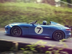 Jaguar Project 7 is a Retro-Branded Solo-Seater F-Type pic #702