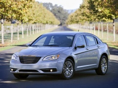 Four Stars for Safety from NHTSA to Chrysler 200 of 2014 pic #2843