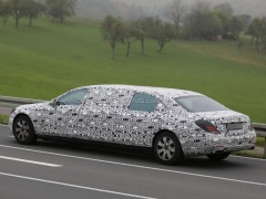 Mercedes-Maybach S-Class Pullman will be shown at the Motor Show in Geneva in 2015 pic #3985