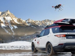 A Drone Landing On Land Rover Discovery Will Save More Lives pic #5499