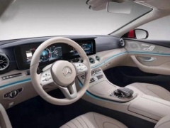 Fancy High-Tech Interior Of The Next Mercedes CLS