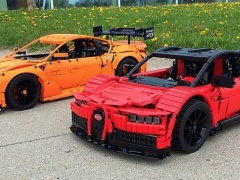 Teaser Of Lego Technic Chiron From Bugatti