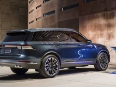 The new Lincoln Aviator introduced officially