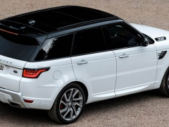 Restyled Land Rover Range Rover Sport presented