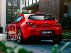 The Japanese spread the first official teaser of the new generation Mazda 3
