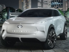 Infiniti QX Inspiration is declassified by an appearance