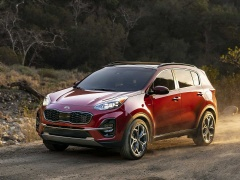 Kia Sportage 2020 showed all privileges