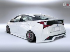 An unusual tuning prepared for Toyota Prius