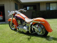 harley-davidson flstc heritage softail classic pic #22215