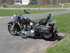 harley-davidson flstc heritage softail classic pic #22216