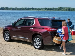 chevrolet traverse pic #182029