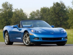chevrolet corvette c6 convertible pic #48022