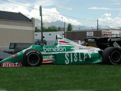 benetton f1 race car pic #20049