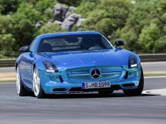 mercedes-benz sls amg coupe electric drive pic #109178