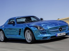 mercedes-benz sls amg coupe electric drive pic #109192