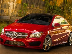 Mercedes-Benz CLA-Class US-Version pic