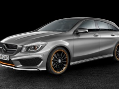 mercedes-benz cla shooting brake pic #133424