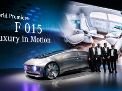 Mercedes-Benz F 015 Luxury pic