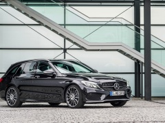 mercedes-benz c450 amg estate pic #135743