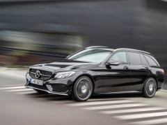 mercedes-benz c450 amg estate pic #135755