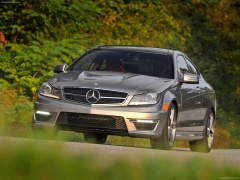 mercedes-benz c63 amg coupe pic #84568