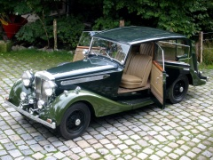 daimler light straight eight sports saloon (1938) pic #45523