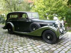 daimler light straight eight sports saloon (1938) pic #45526