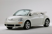 New Beetle Convertible Triple White