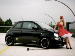 h&r springs fiat 500 pic #47804