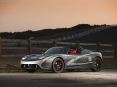 Tesla Roadster TAG Heuer pic