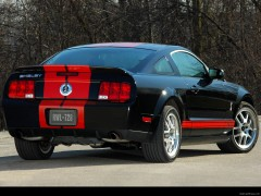 ford mustang shelby gt500 red stripe pic #43422
