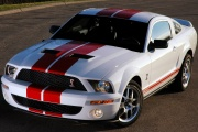 Mustang Shelby GT500 Red Stripe